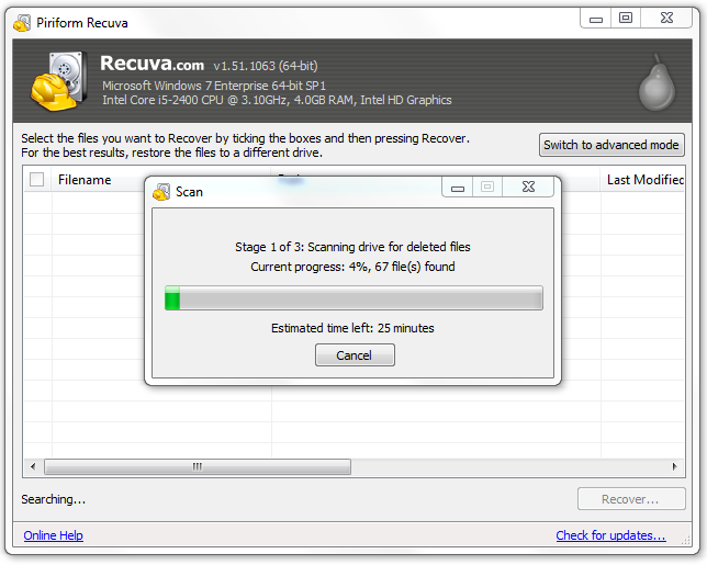 There are no guarantees, but Recuva is pretty darn good at rooting out lost files.